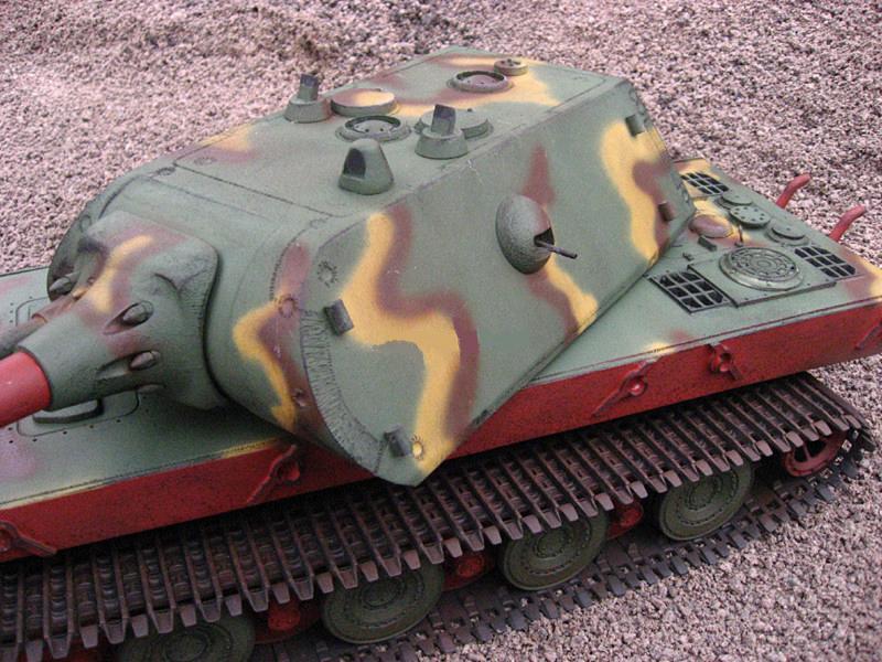 1/16 Panzer E-100 from Juckenburg models
