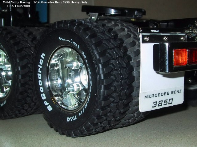 Special Tires And Rims For 1 14 Scale Tamiya S Semi Trucks